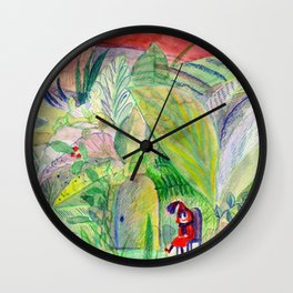 waiting for guests Wall Clock