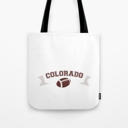 Just a Baller from Colorado Football Player Tote Bag