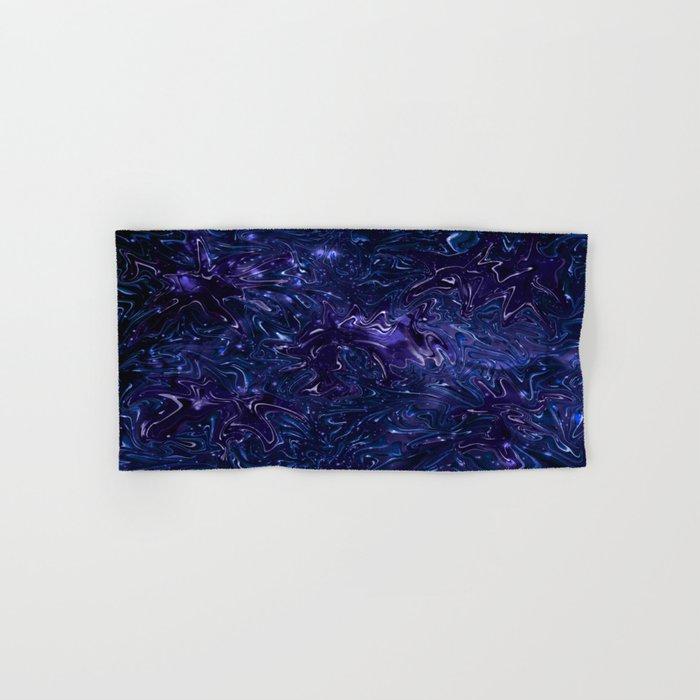 The Wolves Hidden in the Sapphire Blue Galaxy Hand & Bath Towel