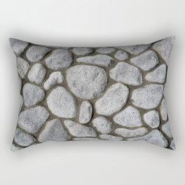Stone Wall Rectangular Pillow