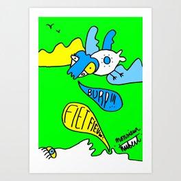 burp! Art Print