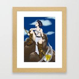 Hati Framed Art Print