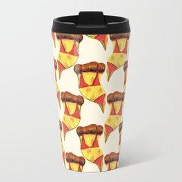 sexy pizza Travel Mug