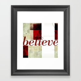 Mark 9:23 Framed Art Print
