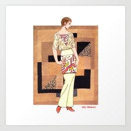 Art Deco 5 Art Print