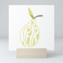 Pear Mini Art Print