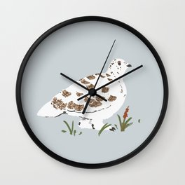 Ptarmigan Wall Clock