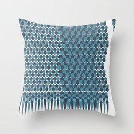 Cubist Ornament Pattern Throw Pillow