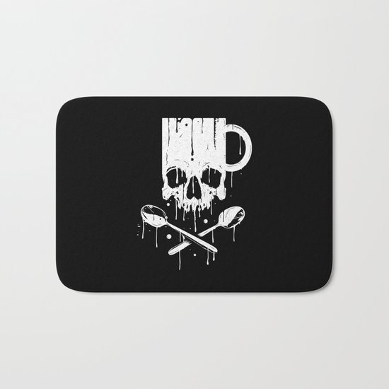 Coffee Pirates Bath Mat