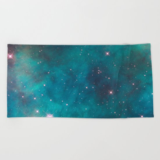 Space 03 Beach Towel