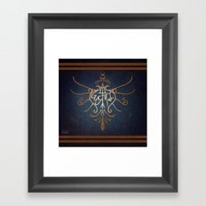 Sigil of Ravenclaw Framed Art Print