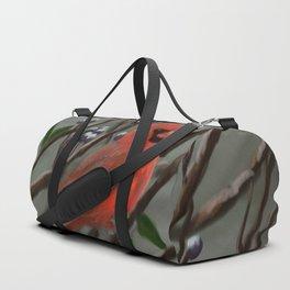Male Cardinal DP151210a-14 Duffle Bag