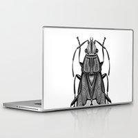 bug Laptop & iPad Skins featuring Bug by pereverzeva