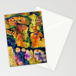 GLOWING CORAL Stationery Cards
