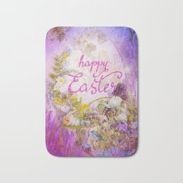 Purple Easter Bath Mat