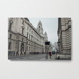 Streets of London  Metal Print