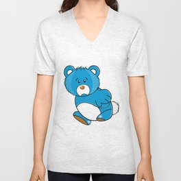 Missing Bear Unisex V-Neck