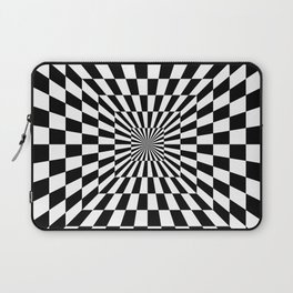 Optical Illusion Hallway Laptop Sleeve