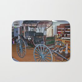 Antique Carriage in museum Bath Mat