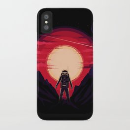 Somewhere in Space iPhone Case