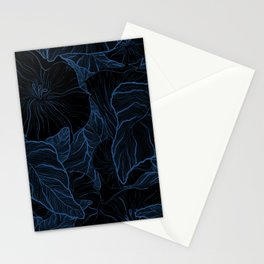 Night Bloom Stationery Cards