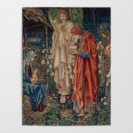 "Edward Burne-Jones ""The Adoration of the Magi"" Poster"