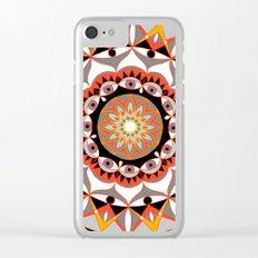 My Solar Plexus Mandhala | Secret Geometry | Energy Symbols Clear iPhone Case