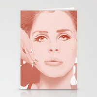 ultraviolence Stationery Cards featuring LANA by Itxaso Beistegui Illustrations