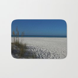A Peaceful Day At A Marvelous Gulf Shore Beach Bath Mat