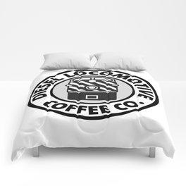 Diesel Locomotive Coffee Co. Comforters