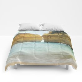 On a Collision Course Comforters