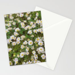 Daisies In Spring Stationery Cards
