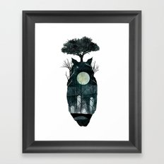 March of the Forest Spirits Framed Art Print