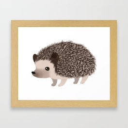 Cute Hedgehog Framed Art Print