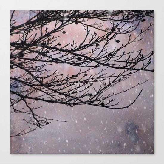 Dusky Winter Days Canvas Print