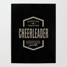 Genuine Cheerleader Poster