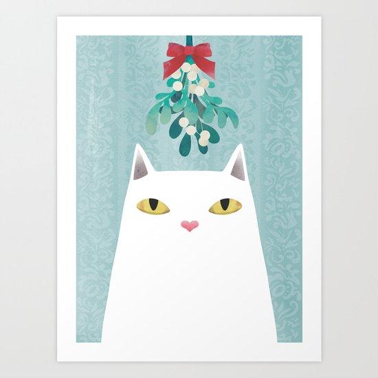 Mistletoe? Art Print