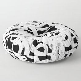 octopus nero Floor Pillow