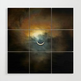 Solar Eclipse II Wood Wall Art