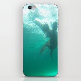 Flip & Swim iPhone Skin