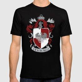 """University of Chicago """"House"""" Hogwarts Crest T-shirt"""