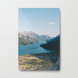 Waterton Village Metal Print