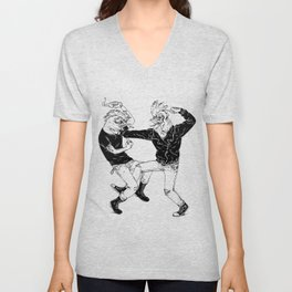 COCKFIGHT Unisex V-Neck