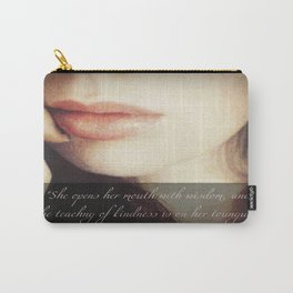 Teaching of Kindness Carry-All Pouch