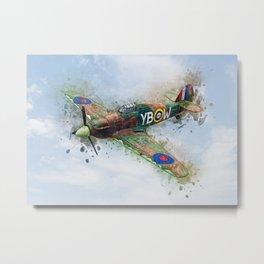 Hawker Hurricane Mk II Metal Print
