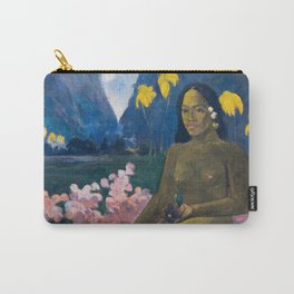 The Seed of the Areoi by Paul Gauguin Carry-All Pouch
