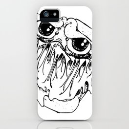 Monster grilled cheese iPhone Case