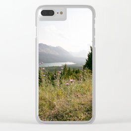 Dreamy Evenings in Montana Clear iPhone Case