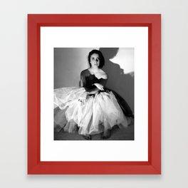 Horst Inspired Framed Art Print