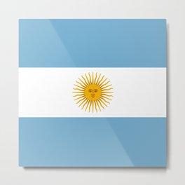 Argentina Metal Print